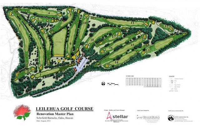 leilehua golf course  oahu  hawaii