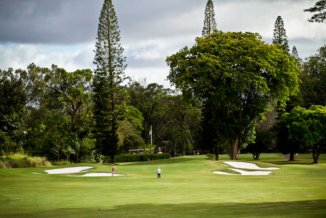 Leilehua Golf Course  Oahu  Hawaii